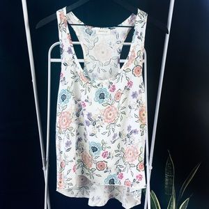 🌺 Poetry Floral Racer Back Tank Top